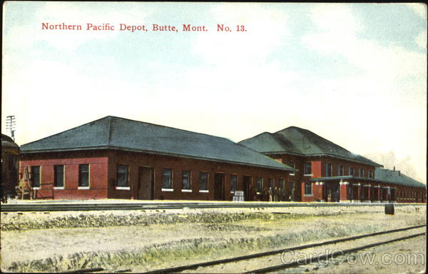 Northern Pacific Depot Butte Montana