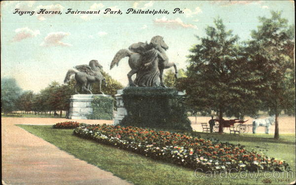 Flying Horses, Fairmount Park Philadelphia Pennsylvania