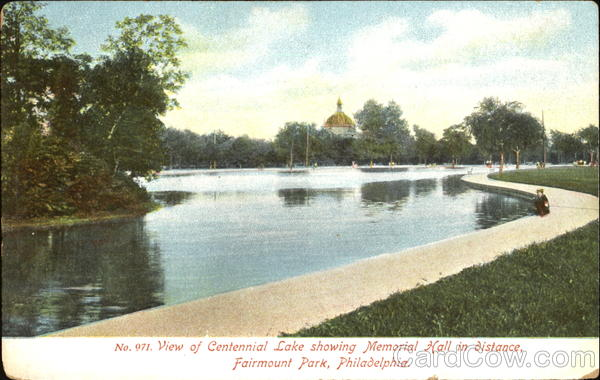 Centennial Lake, Fairmount Park Philadelphia Pennsylvania