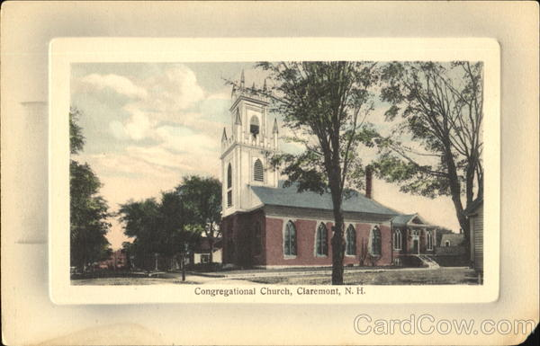 Congregational Church Claremont New Hampshire