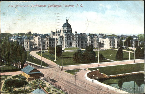 The Provincial Parliament Buildings Victoria Canada