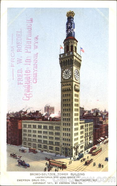 Bromo-Seltzer Tower Building Baltimore Maryland