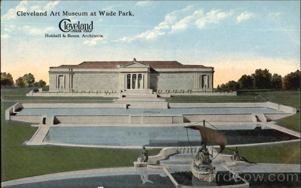 Cleveland Art Museum At Wade Park Ohio