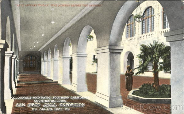Colonnade And Patio Southern California Counties Building San Diego