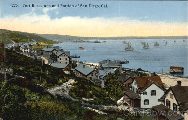 Fort Rosecrans And Portion Of San Diego California