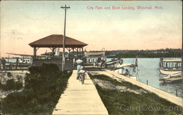 City Park And Boat Landing Whitehall Michigan