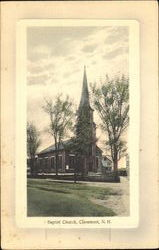 Baptist Church Postcard