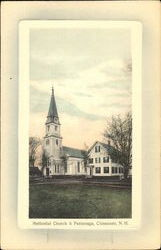 Methodist Church & Parsonage Postcard