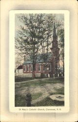 St. Mary's Catholic Church Postcard