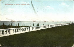 Battleships At Santa Barbara