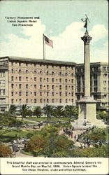 Victory Monument And Union Square Hotel