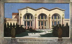 North Elevation Machinery Hall