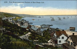 Fort Rosecrans And Portion Of San Diego