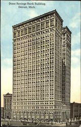 Dime Savings Bank Building Postcard
