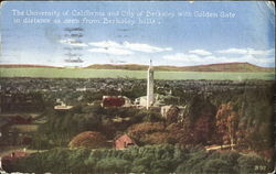 The University Of California And City Of Berkeley