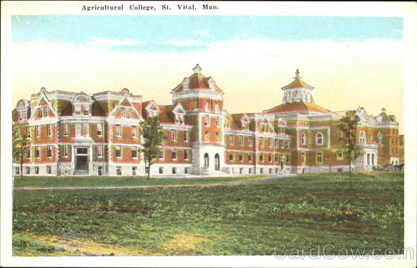 Agricultural College St. Vital Canada Manitoba