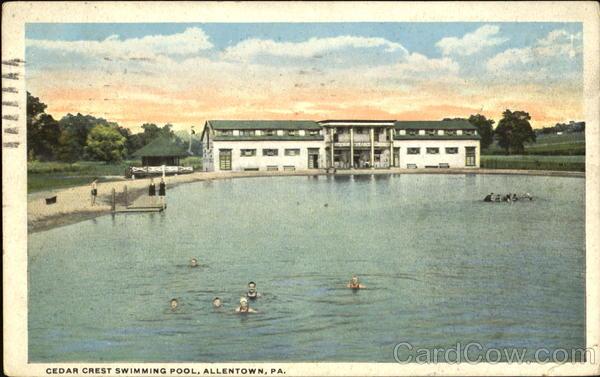 Cedar Crest Swimming Pool Allentown Pa