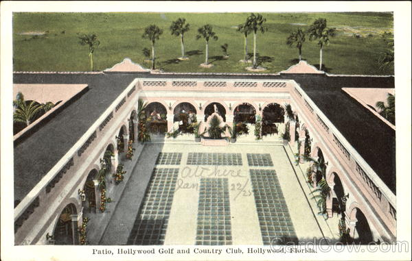Patio Hollywood Golf And Country Club Florida