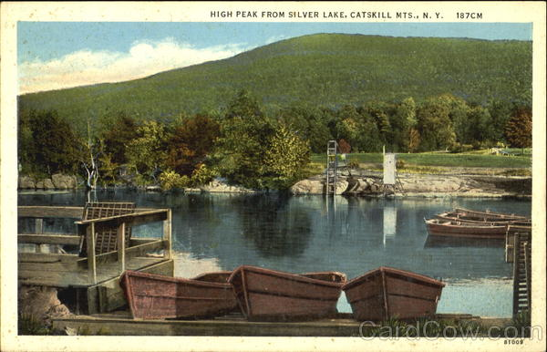 High Peak Fro Silver Lake Catskill Mts New York