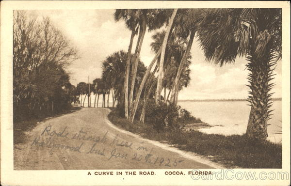 A Curve In The Road Cocoa Florida