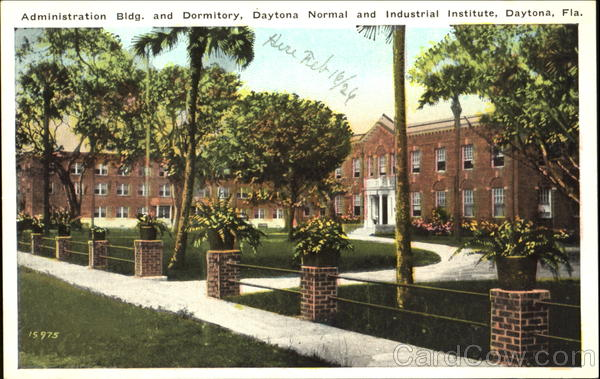 Administration Bldg. And Dormitory, Daytona Normal and Industrial Institute Florida