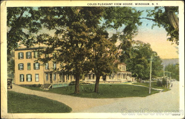 Coles Pleasant View House Windham New York