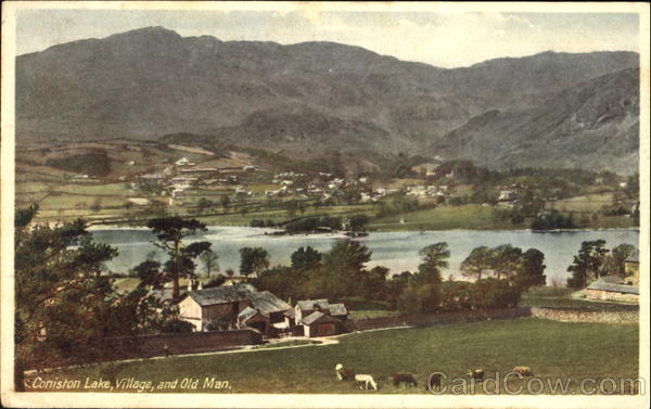 Coniston Lake England