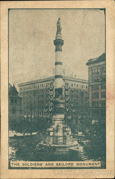 The Soldiers And Sailors Monument Buffalo New York