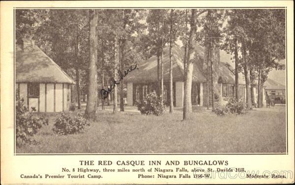 The Red Casque Inn And Bungalows, No. 8 Highway Niagara Falls New York