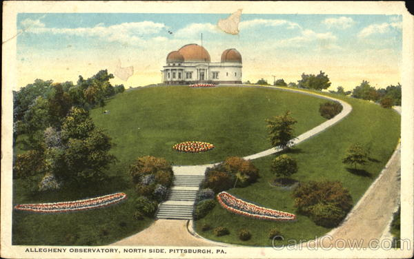 Allegheny Observatory Pittsburgh Pennsylvania