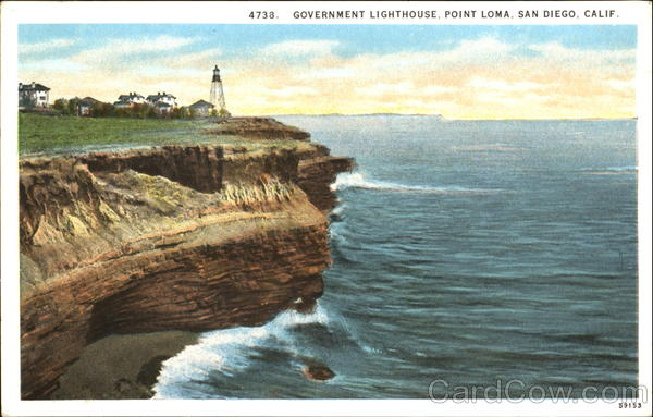 Government Lighthouse, Point Loma San Diego California
