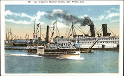 Los Angeles Harbor Scene