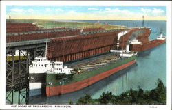 Ore Docks At Two Harbors