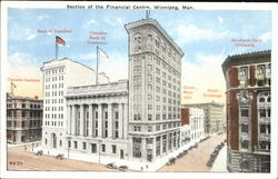 Section Of The Financial Centre Postcard