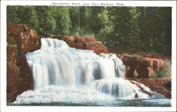 Gooseberry River, Two Harbors Postcard