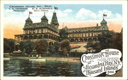 Crossmon House Hotel Postcard