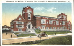 Gymnasium And Entrance To Franklin Field, University of Pennsylvania