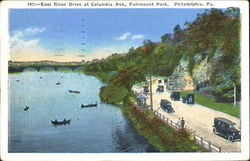 East River Drive At Columbia Ave, Fairmount Park