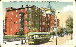 St. Joseph's Hospital, Girard Ave., 16th to 17th St.