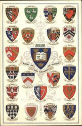 Arms Of The Colleges Of Oxford, Oxford University