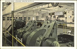 Steamer Greater Buffalo Engine Room