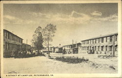 A Street At Camp Lee