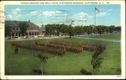 Parade Grounds And Drill Field