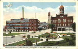 Central Fire Station And Endicott Johnson & Co. Factory