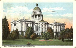 East View Of State Capitol