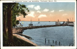 Steamers Louis And Annapolis Postcard