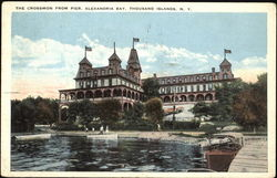 The Crossmon From Pier, Alexandria Bay Postcard