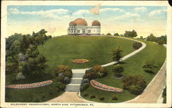 Allegheny Observatory Postcard