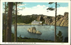 Sylvan Lake And Hotel