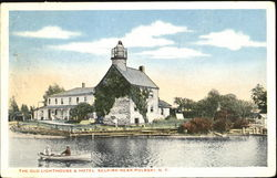 The Old Lighthouse & Hotel Selkirk Postcard
